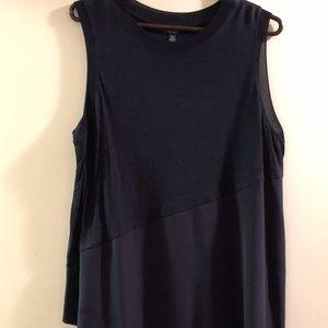 Asymmetrical sleeveless pullover top, Simply Vera